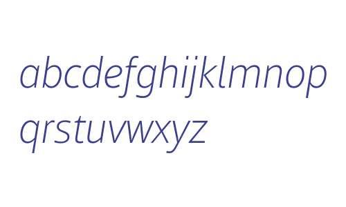 Mayberry W02 Light Italic