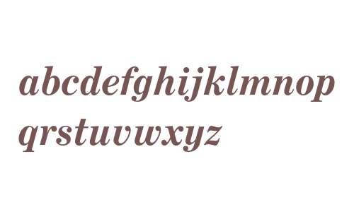 Century Expanded Bold Italic