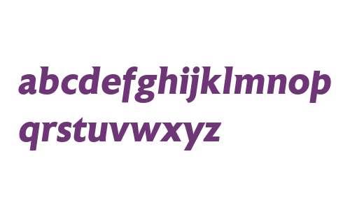 Astoria W00 Bold Italic