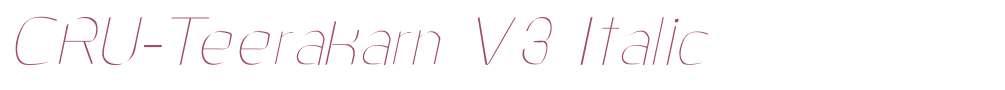 CRU-Teerakarn V3