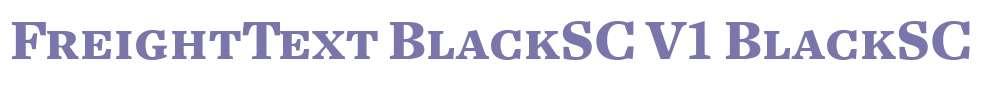 FreightText BlackSC V1