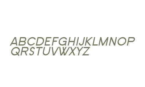 SF Old Republic SC Italic V3