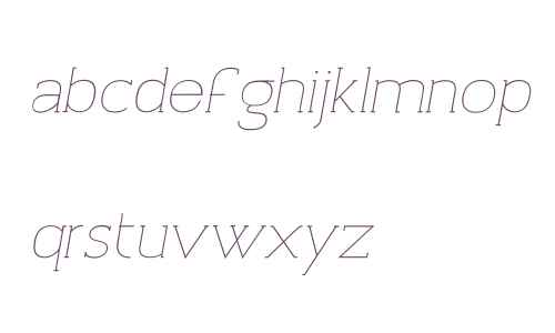 Archivio Italic W00 Slab 200