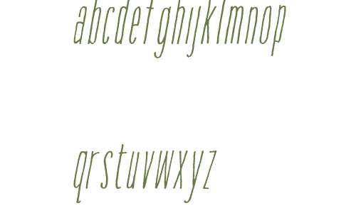 Amorie Modella W01 Light Italic