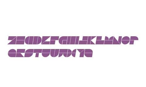 Drebiek Expanded Italic