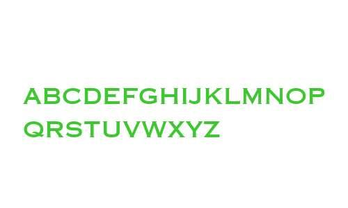 Copperplate Gothic LT W04 31AB