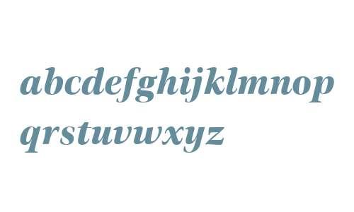 Civita W01 ExtraBold Italic