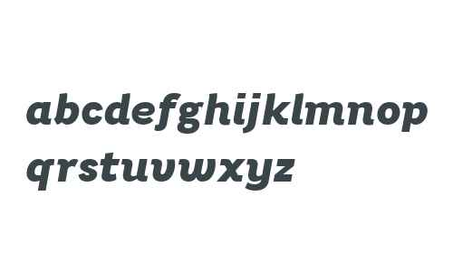 Bright Grotesk ExtraBold Italic