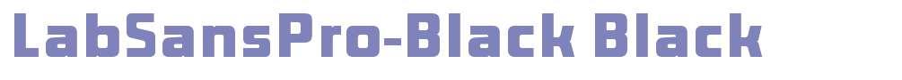LabSansPro-Black