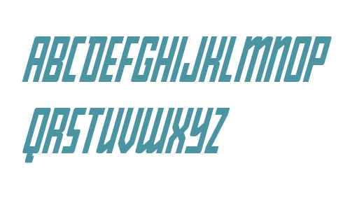 Young Patriot Condensed Italic