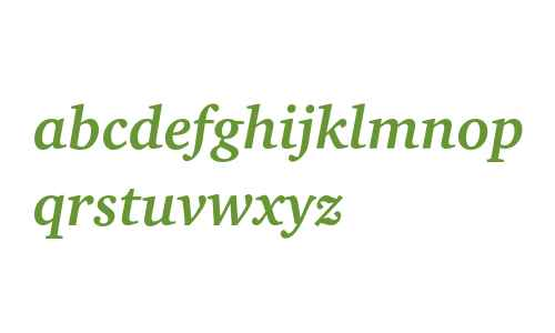 Charter ITC Bold Italic
