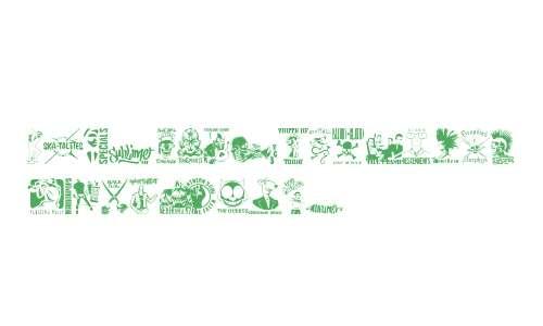 stencilpunks band logos 0001