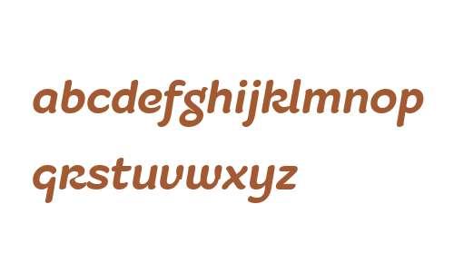 Fruitygreen W01 Bold Italic