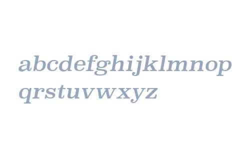 Superclarendon Rg Italic V2