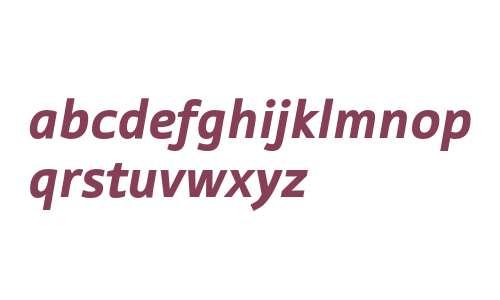 Tabula ITC Std Black Italic