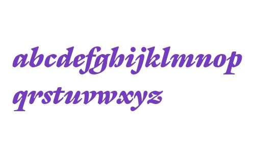 ITC Galliard Ultra Italic