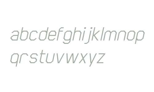 Scriber W00 Italic