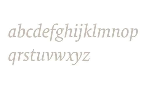 TundraWeb-Italic W03 Regular
