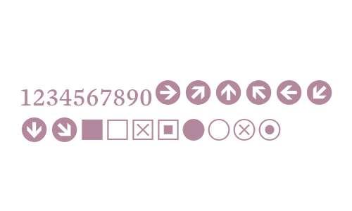 Mercury Numeric G1 Roman