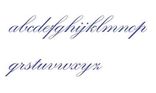 Kuenstler Script LT Std 2 Bold