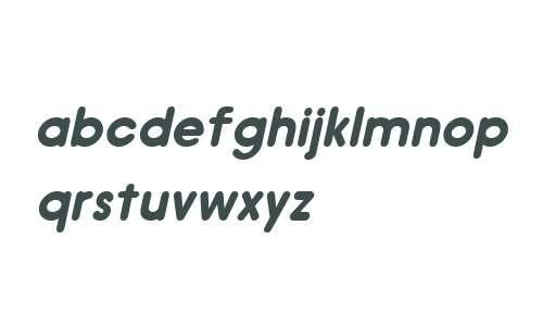Hiruko W01 Regular Oblique