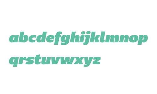 Ebony W03 UltraBlack Italic