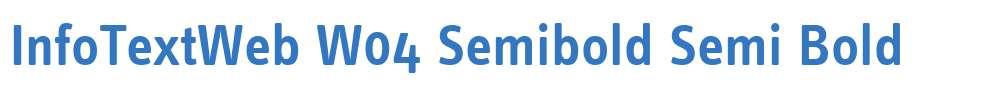 InfoTextWeb W04 Semibold