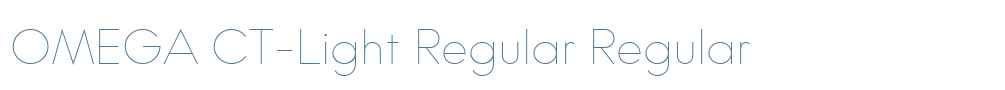 OMEGA CT-Light Regular