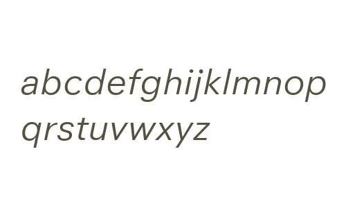 Neuzeit Office W04 Italic