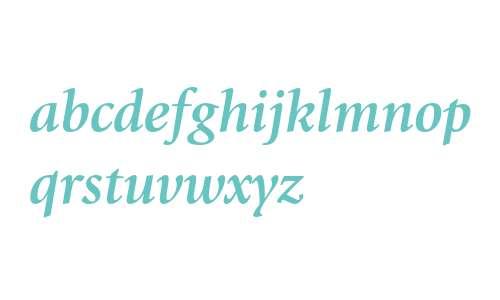 ITC Giovanni Bold Italic