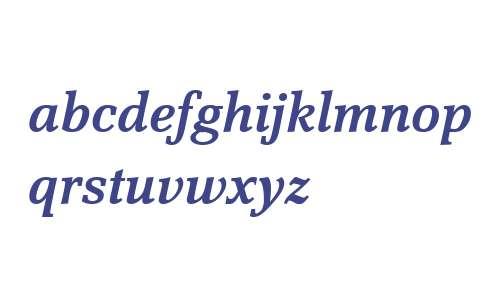 Scherzo W04 Demi Italic