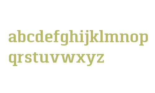 Pancetta Serif W03 SemiBold