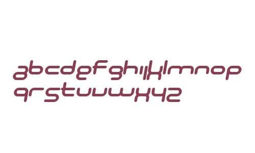 SF Technodelight NS Bold Italic V2 V1