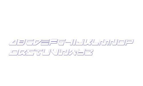 Searider Falcon 3D Italic
