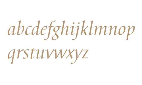 Barbedor T Regular Italic