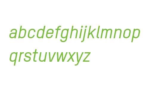 TSTAR PRO W00 Medium Italic