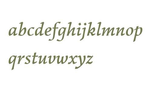Garibaldi W03 Medium Italic