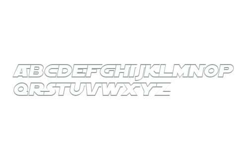SF Distant Galaxy AltOutline Italic V2 V2