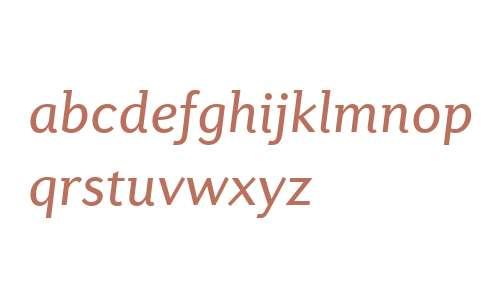 Diverda Sans W04 Italic