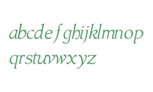 Amitale Book W01 Italic