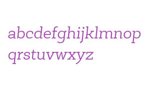 Newslab W01 Light Italic