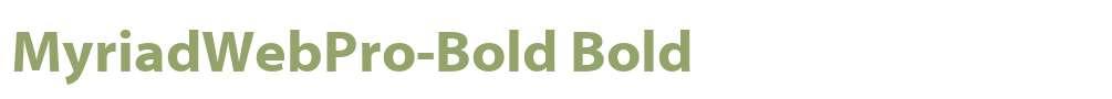 MyriadWebPro-Bold
