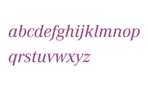 Corporate A W03 Medium Italic