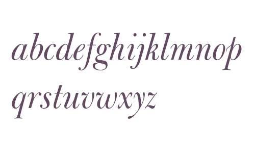 Bulmer Italic