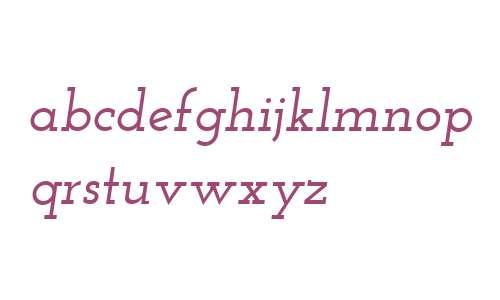 Josefin Slab SemiBold Italic