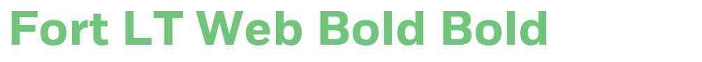 Fort LT Web Bold