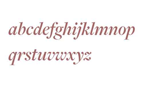 FreightDisp W03 Semibold Italic