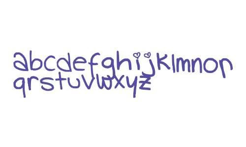 handwriting V5