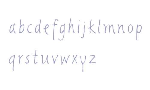 Giacometti Letter LT W01