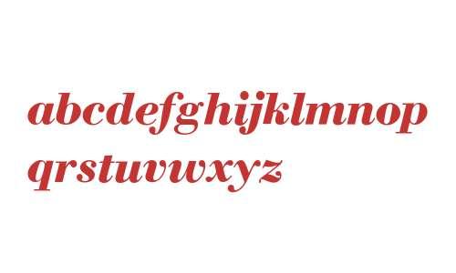 WTC Our Bodoni W03 Bold Italic